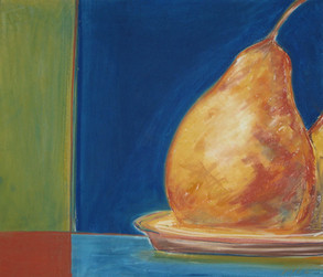 Pears with Red Square