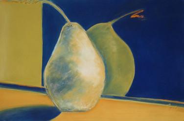 Pears with Orange Stem
