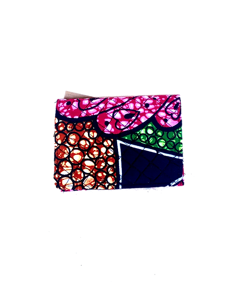Kitenge 28 Small Wallet