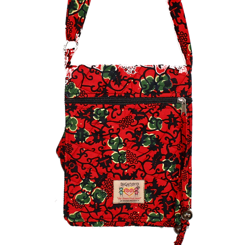 Kitenge 14 Jamo Cross body bag