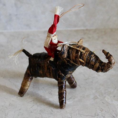 Santa on a Elephant