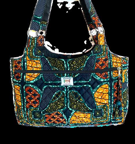 Kitenge 24 Large Shoulder bag