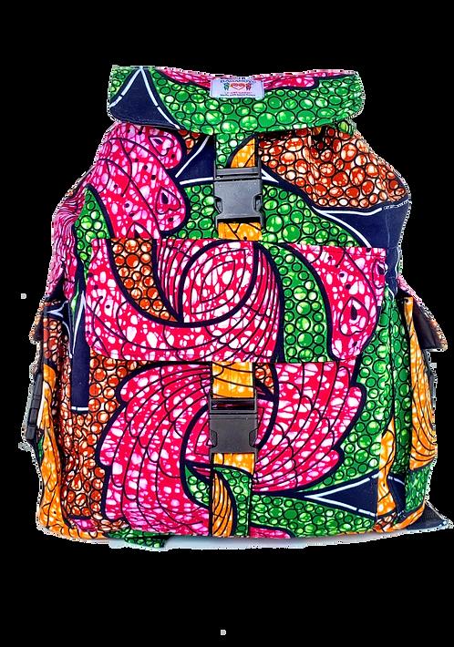 Kitenge 28 Backpack #2