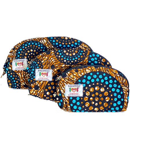 Kitenge 41 Cosmetics Bag