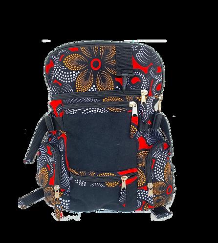 Kitenge 33 Backpack #3