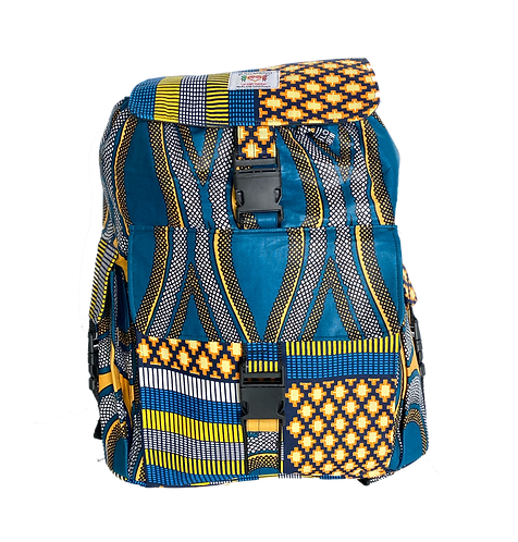 Kitenge 37 Backpack #2