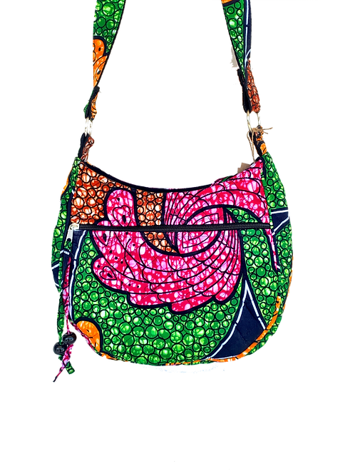Kitenge 28 Moon Crossbody Bag