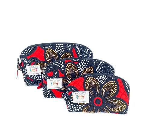 Kitenge 33 Cosmetics Bag