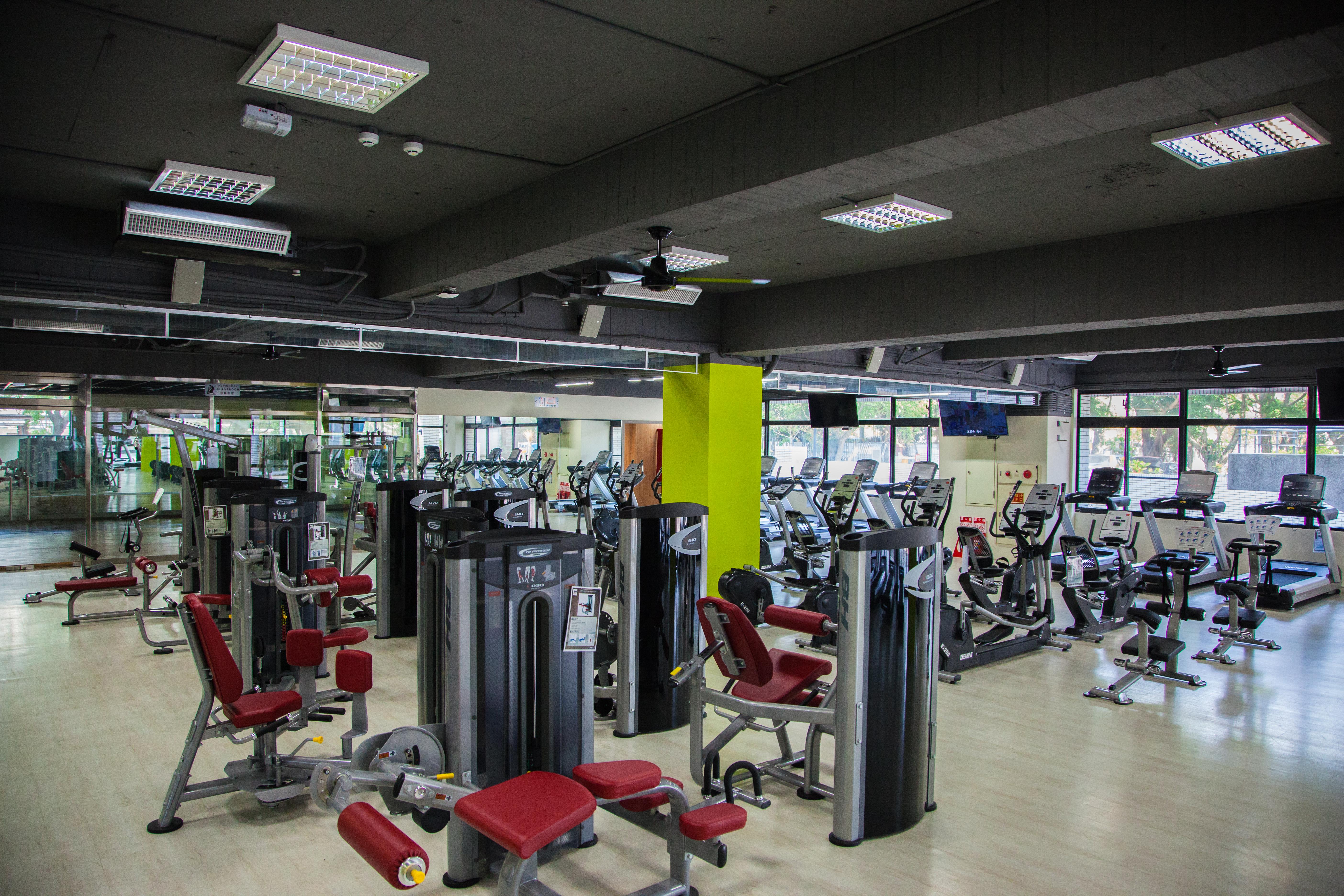 福星宿舍健身房