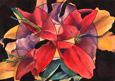 Flowery Gyroscope