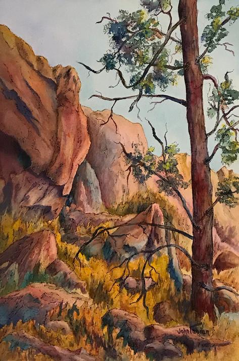High Desert Cliffs
