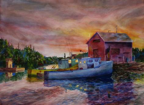 Fisherman Dawn