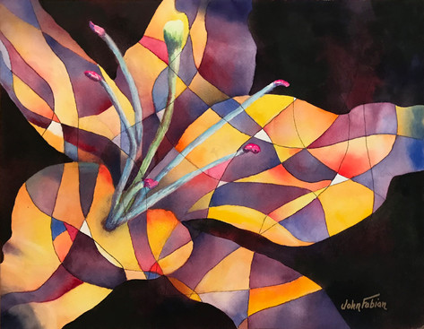 Lilies in the Abstract