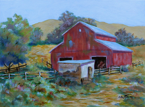 Badger Mountain Barn