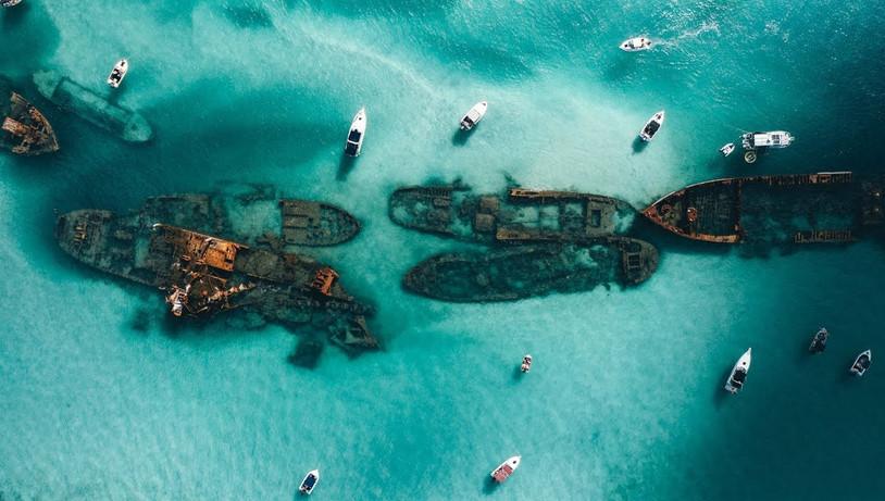 Boat Sanctuary on Moreton Island I Fleet Crew 4WD