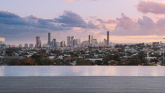 Panoramic Views over Brisbane CityScape