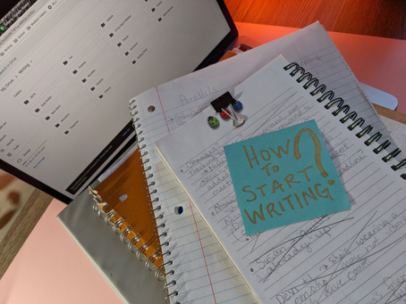 How do you get started writing, anyway?
