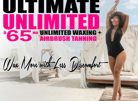 $65 Unlimited Monthly Waxing