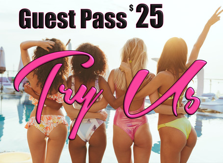 Guest Pass 2 Services for $25