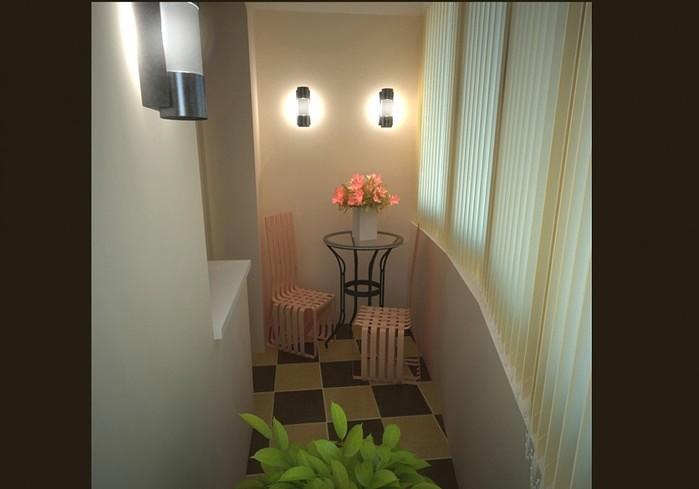 Отделка балконов+окна пвх