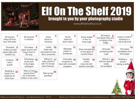 Elf on the Shelf is Back!