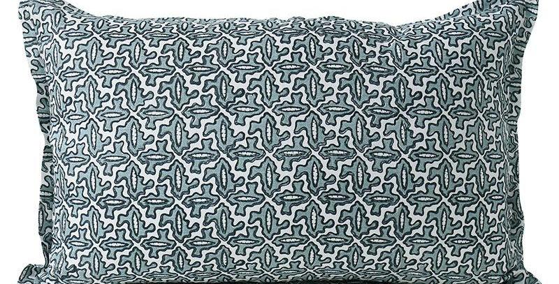 Arles Dusk linen cushion 35x55cm