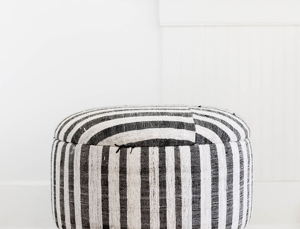 Medium Hemp Ottoman No.3
