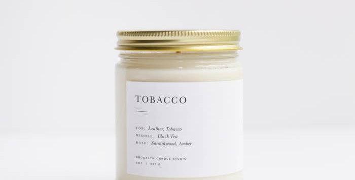 Tobacco Minimalist Candle