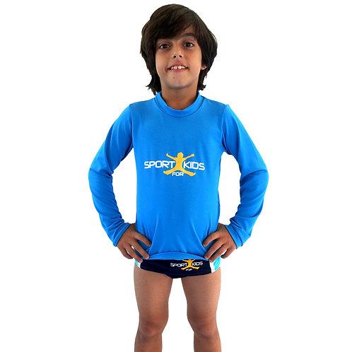Camisa Aqua com proteção UV