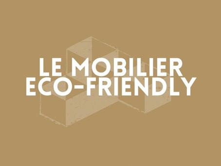 Le mobilier éco-friendly