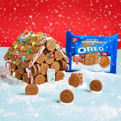 Gingerbread Oreo House