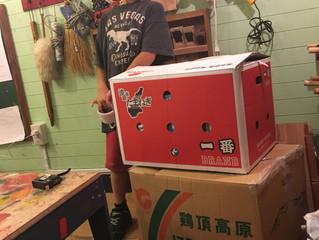 西日本豪雨災害の支援物資を送りました。