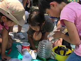 5月21日 防災ごっこ in南池袋公園