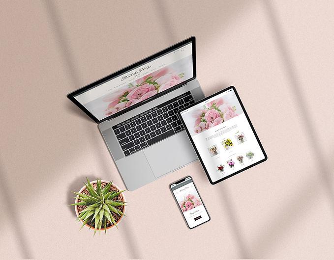 Florist Website Mockup