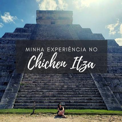 Como foi a minha experiência no Chichen Itza por: @samaragobatto