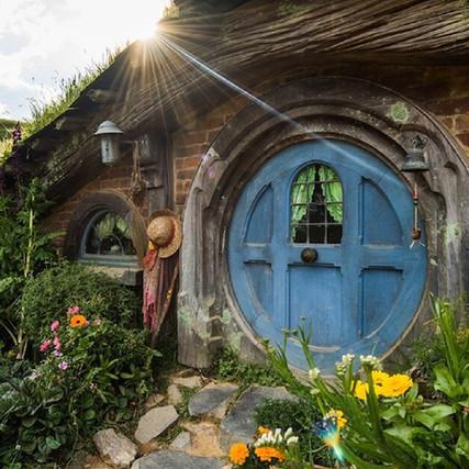 Hobbiton, o set de filmagens das trilogias O Senhor dos Anéis e O Hobbit