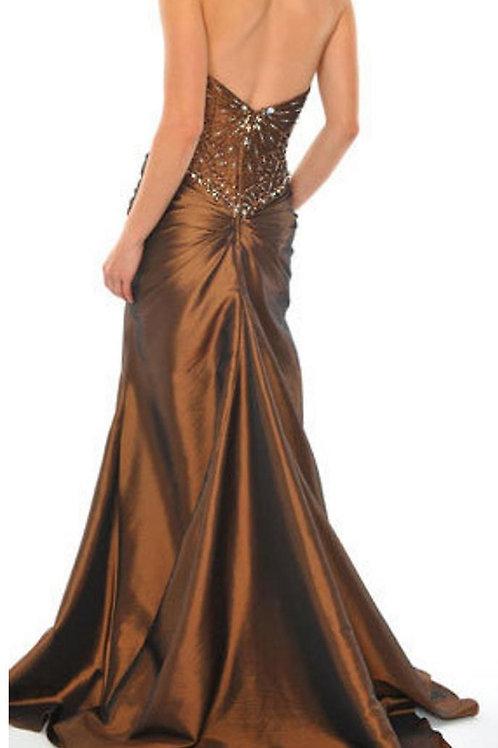 Mattieu Ethan Crystal Evening Celebrity Gown