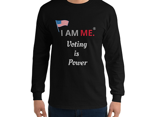 Voting is Power Long Sleeve Shirt