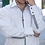 Thumbnail: Mattieu Ethan black/white checkered trim Dress Shirt