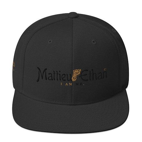 Mattieu Ethan I AM ME. Snapback Hat