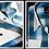 Thumbnail: Mattieu Ethan Blue/White Open Check Dress Shirt