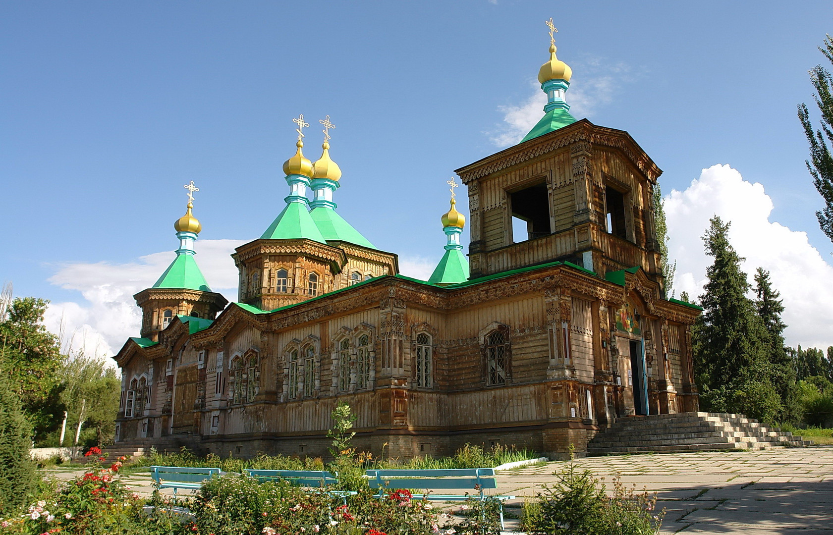 Eglise orthodoxe dédiée à La Sainte-Trinité