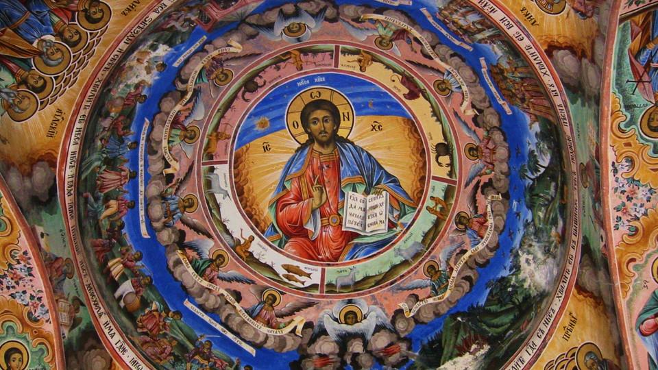 Fresque du Monastère de Rila