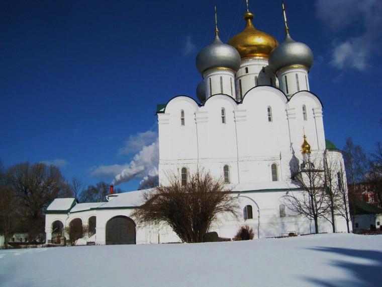 Couvent de Novodievitchi en hiver