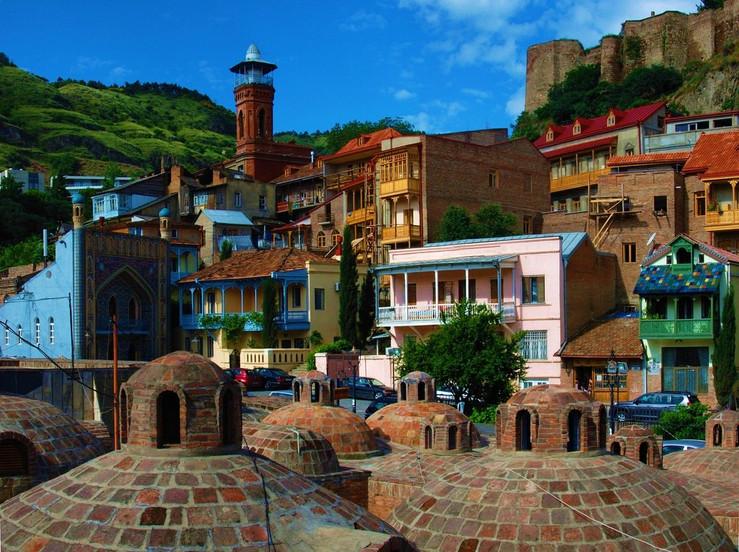 Quartier des Bains Sulfureux de Tbilissi