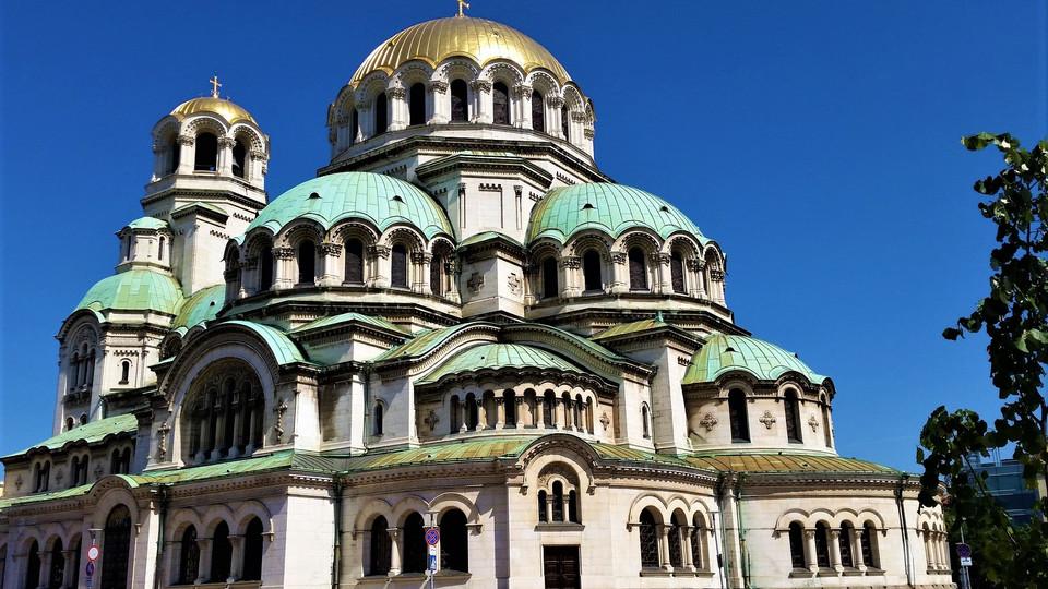 Cathédrale Alexandre Nevski à Sofia