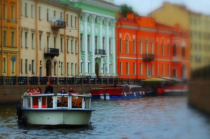 Canaux de Saint-Pétersbourg