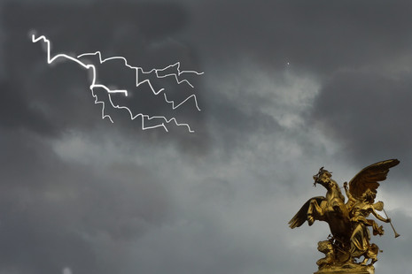 La peur de l'orage