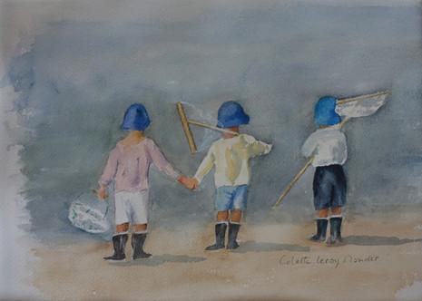 Enfants à la pêche 1