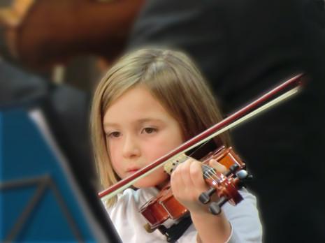 Petite violoniste